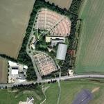 Cambridge Ice Arena Aerial Shot