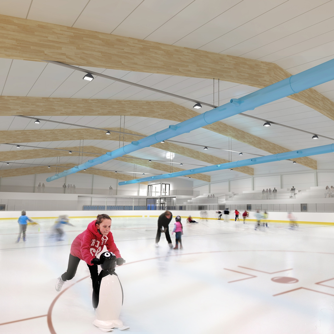 Cambridge Ice Arena design features